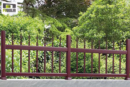 Clôture de couleur accacia - Fybolia