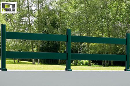 Clôtures vertes lisse - Artisan poseur 85