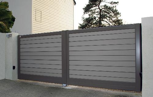 Portails cl tures portes de garage for Porte cloture aluminium